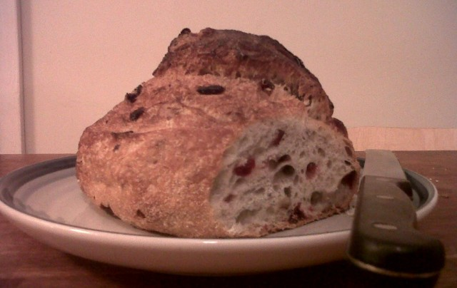 The Cranberry Pecan Sourdough
